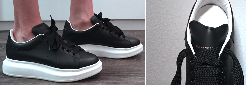 alexander mcqueen oversized sneaker review. Black Bedroom Furniture Sets. Home Design Ideas